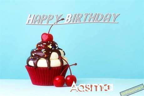 Happy Birthday Aasma Cake Image