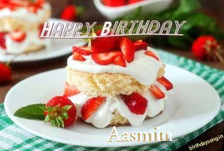 Happy Birthday Aasmin Cake Image