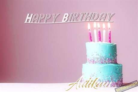 Happy Birthday Cake for Aatikun