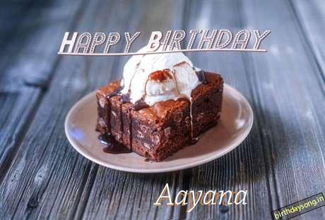 Happy Birthday Aayana Cake Image