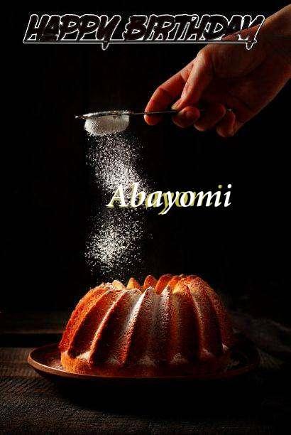 Birthday Images for Abayomi