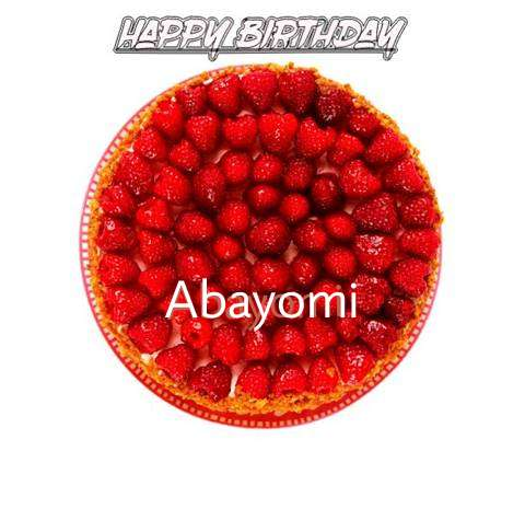 Happy Birthday to You Abayomi
