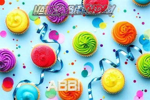 Happy Birthday Cake for Abbi