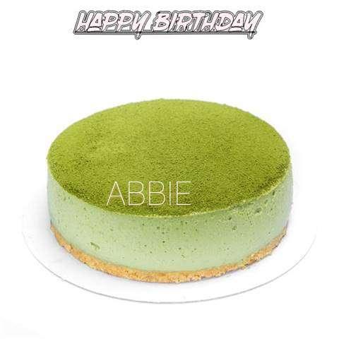Happy Birthday Cake for Abbie