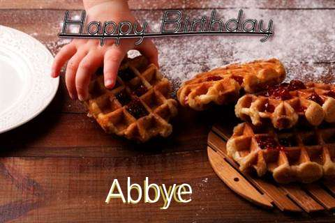 Happy Birthday Wishes for Abbye