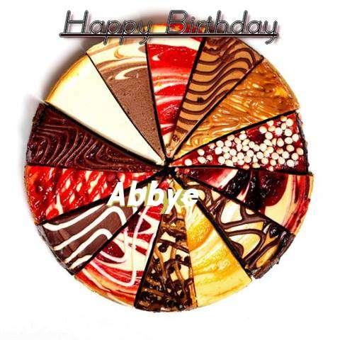 Happy Birthday to You Abbye
