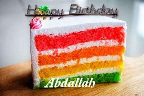 Happy Birthday Abdallah