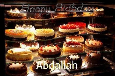 Happy Birthday to You Abdallah