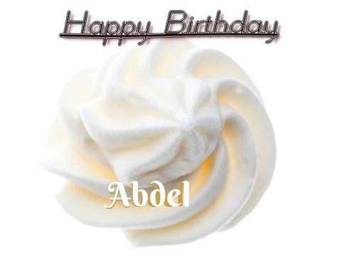 Happy Birthday Cake for Abdel