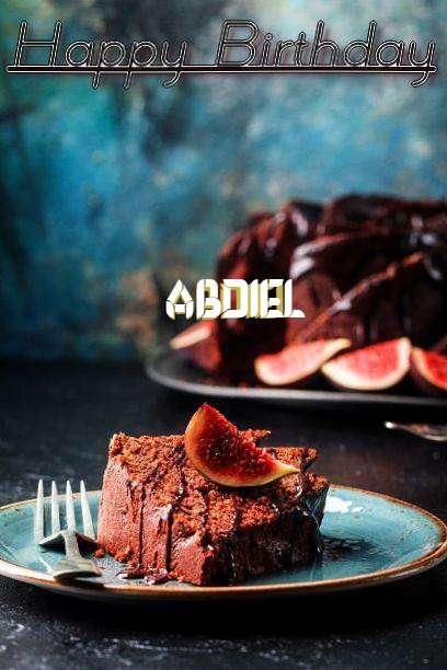 Happy Birthday Abdiel Cake Image