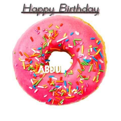 Happy Birthday Wishes for Abdul