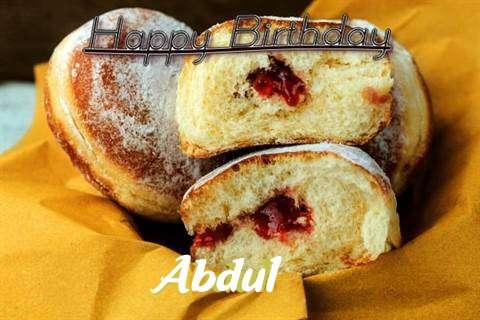 Happy Birthday Cake for Abdul