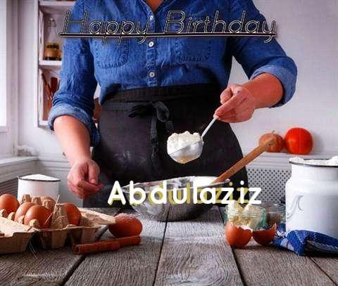 Happy Birthday to You Abdulaziz