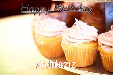 Happy Birthday Cake for Abdulaziz