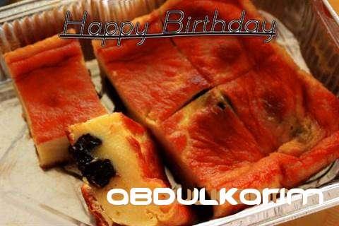 Happy Birthday Cake for Abdulkarim