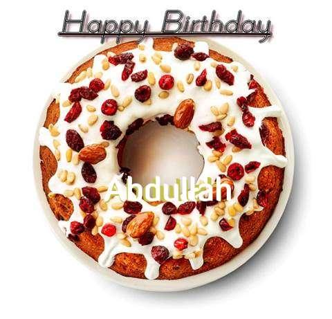 Happy Birthday Abdullah