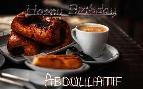 Happy Birthday Abdullatif Cake Image
