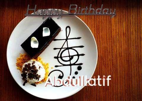 Happy Birthday Cake for Abdullatif
