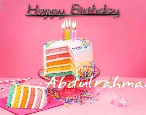 Abdulrahman Birthday Celebration