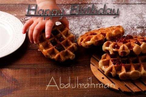 Happy Birthday Wishes for Abdulrahman