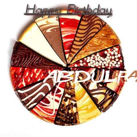 Happy Birthday to You Abdulrahman