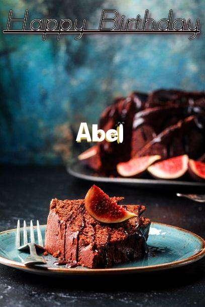 Happy Birthday Abel Cake Image