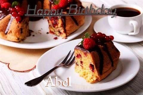 Happy Birthday to You Abel
