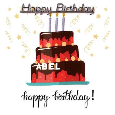 Happy Birthday Cake for Abel