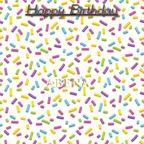 Happy Birthday Wishes for Abena