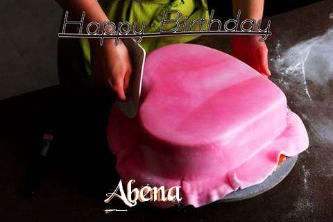 Happy Birthday Cake for Abena
