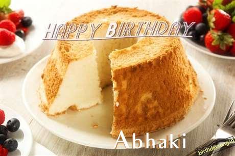 Happy Birthday Wishes for Abhaki
