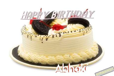 Happy Birthday Cake for Abhaki