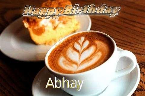 Happy Birthday Cake for Abhay