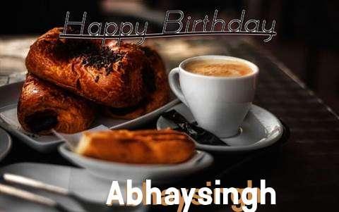Happy Birthday Abhaysingh Cake Image