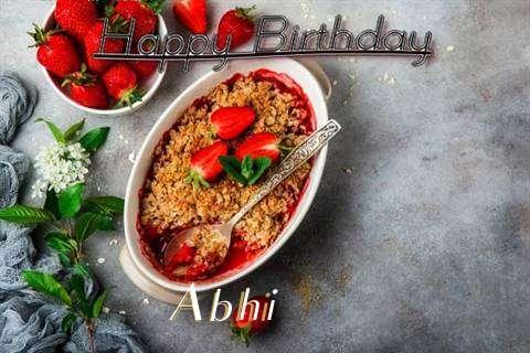 Birthday Images for Abhi
