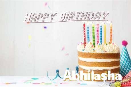 Happy Birthday Abhilasha Cake Image