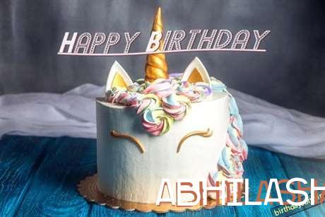 Happy Birthday Cake for Abhilasha
