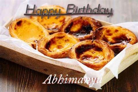 Happy Birthday Wishes for Abhimanyu