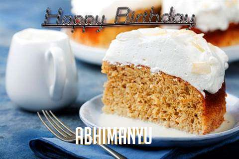 Happy Birthday to You Abhimanyu