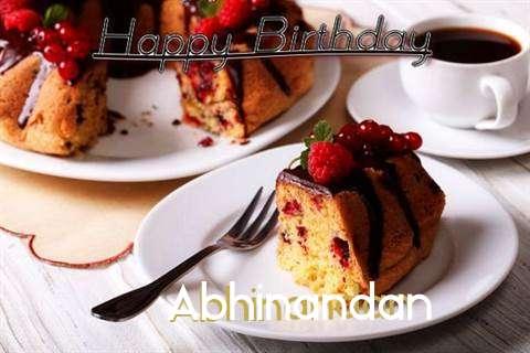 Happy Birthday to You Abhinandan