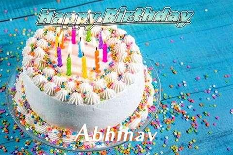 Happy Birthday Wishes for Abhinav