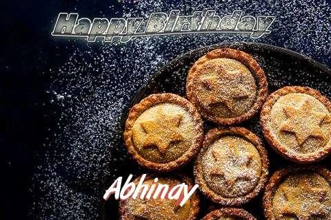 Happy Birthday Wishes for Abhinay