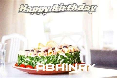 Happy Birthday to You Abhinay