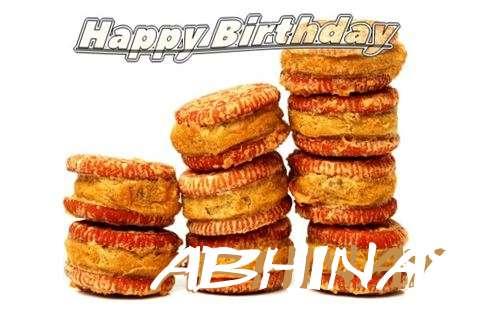 Happy Birthday Cake for Abhinay