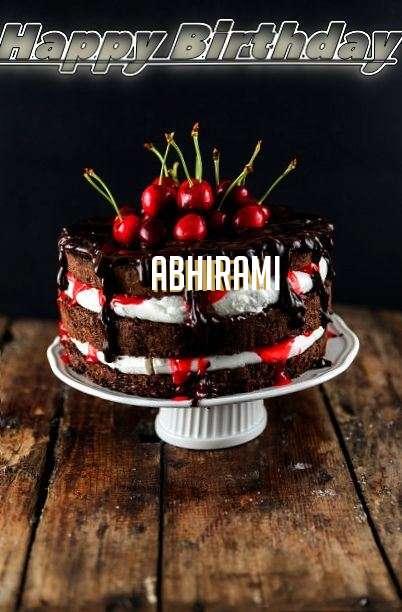 Happy Birthday Abhirami