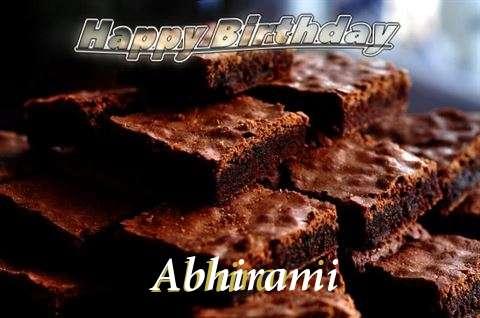 Birthday Images for Abhirami
