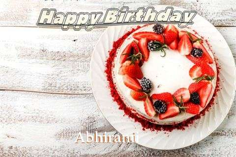 Happy Birthday to You Abhirami