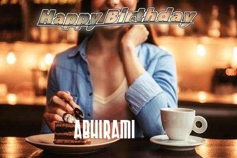 Happy Birthday Cake for Abhirami