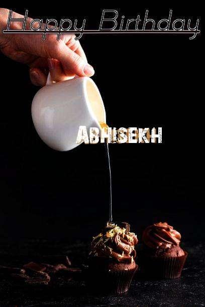 Happy Birthday Abhisekh Cake Image