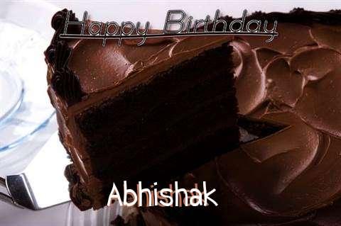 Birthday Wishes with Images of Abhishak